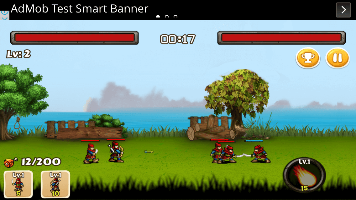 Dynasty Wars - Cocos2dx (Android iOS)