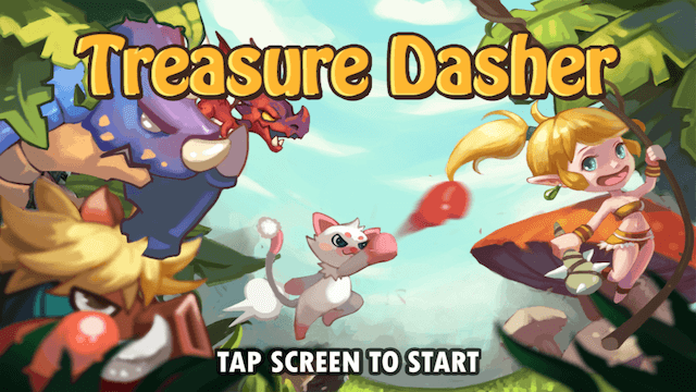 Treasure Hunters - Cookie Run like game