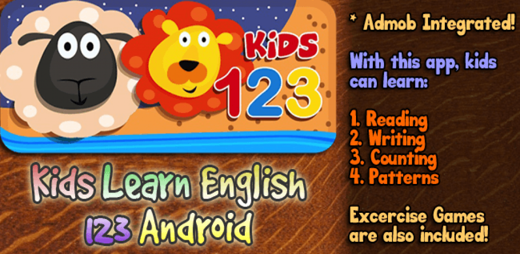 Kids Learn English 123