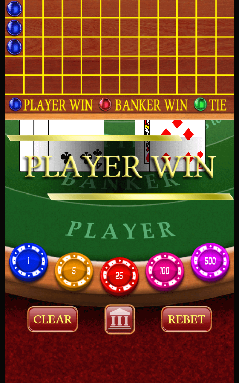Baccarat Casino - Leaderboard & In-App Purchase