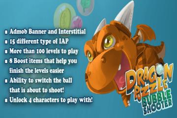 Dragon Puzzle Bobble Shooter