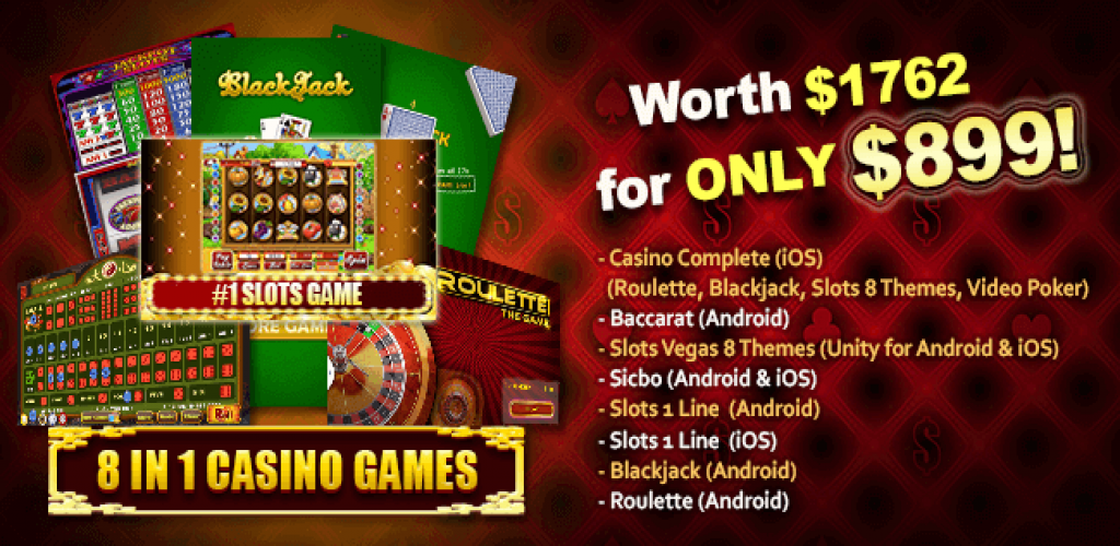 Casino 8 in 1 Game Unity - Worth 1762 NOW only for 899