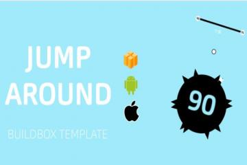 Jump Around Buildbox Template