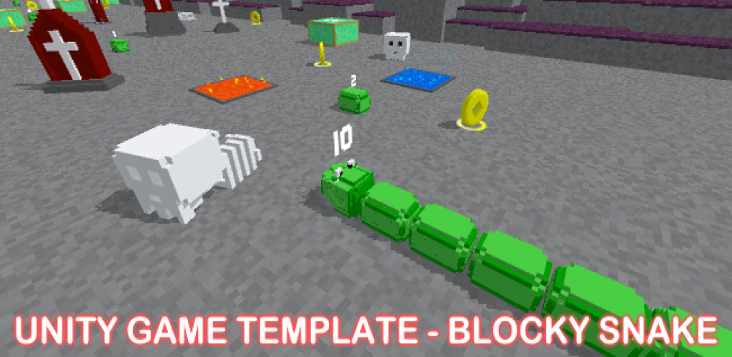 Unity Game Template - Blocky Snake
