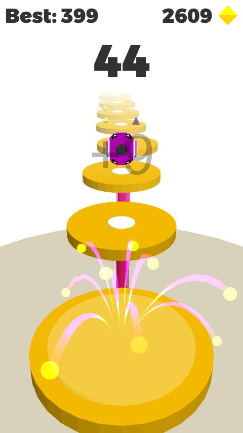 Unity Game Template - Splashy Bouncing