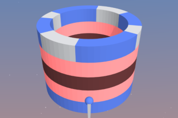 Unity Game Template - Paint The Rings