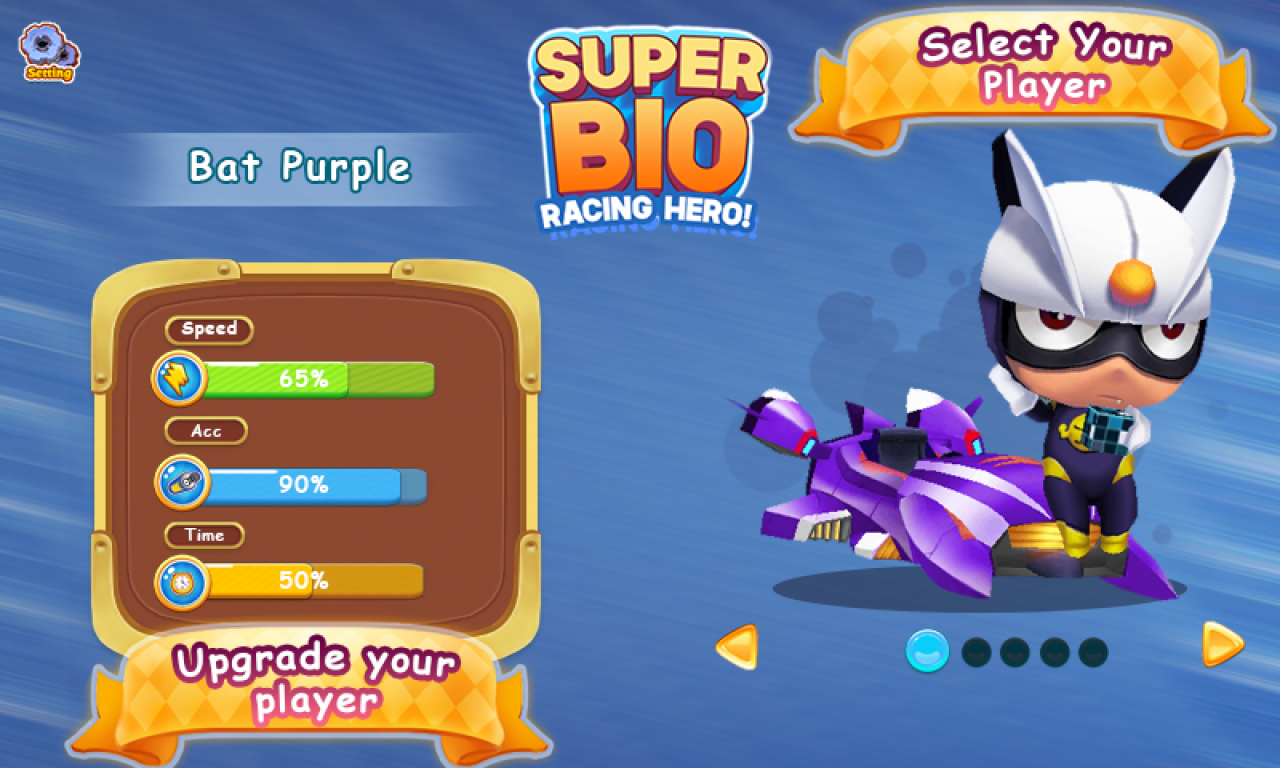 Super Bio Racing