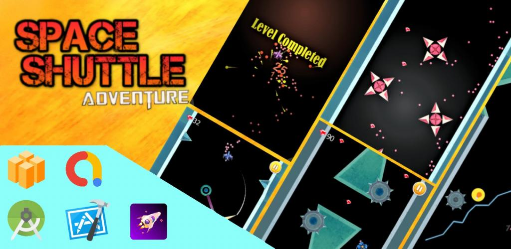 Space Shuttle Adventure: BuildBox Game Template