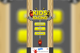 2D Kids Motor Racing LTS Unity Project + Admob Banner + Interstitial