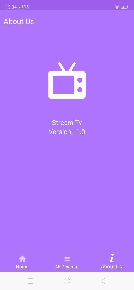 IP Streaming TV | Stream TV | Single channel TV with Admob