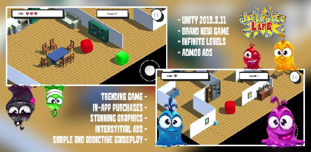 Jellyster Liferand - New Game Trending Games