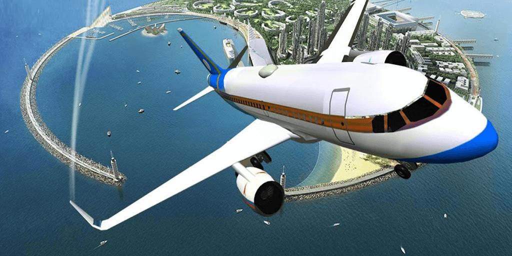 AIRPLANE FLIGHT PILOT SIMULATOR