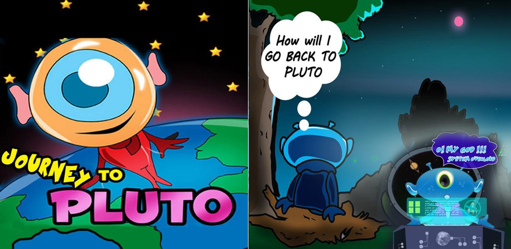 Journey To Pluto Unity 3D Platform Jumping Game Source Code