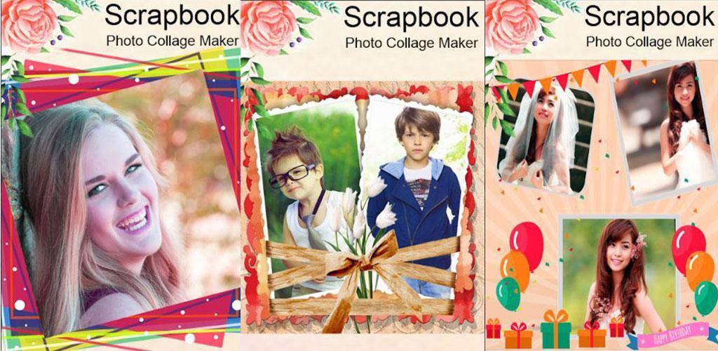 Scrap book collage maker