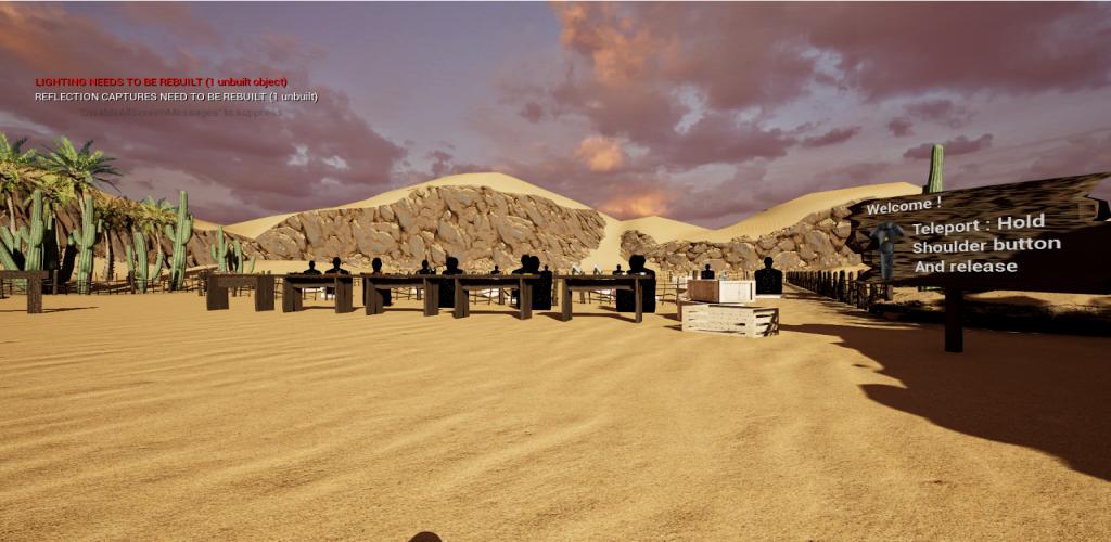 Virtual Reality Shooter