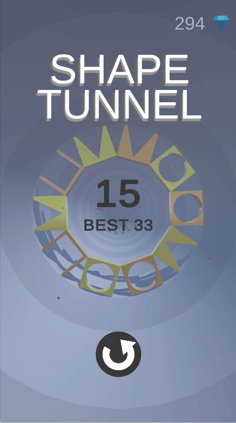 Shape Tunnel - Complete Unity Game