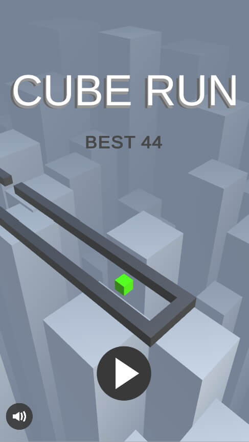 Cube Run - Complete Unity Game