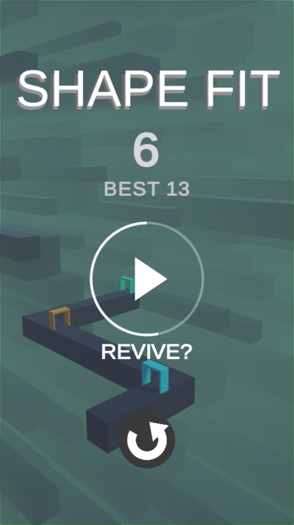 Shape Fit – Complete Unity Game
