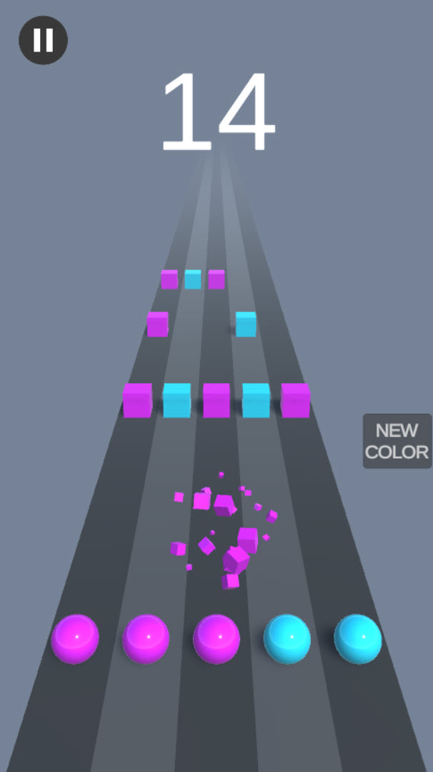 Color Dash – Complete Unity Game