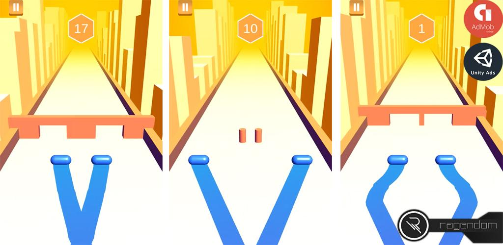 Double Roll Complete Unity Game