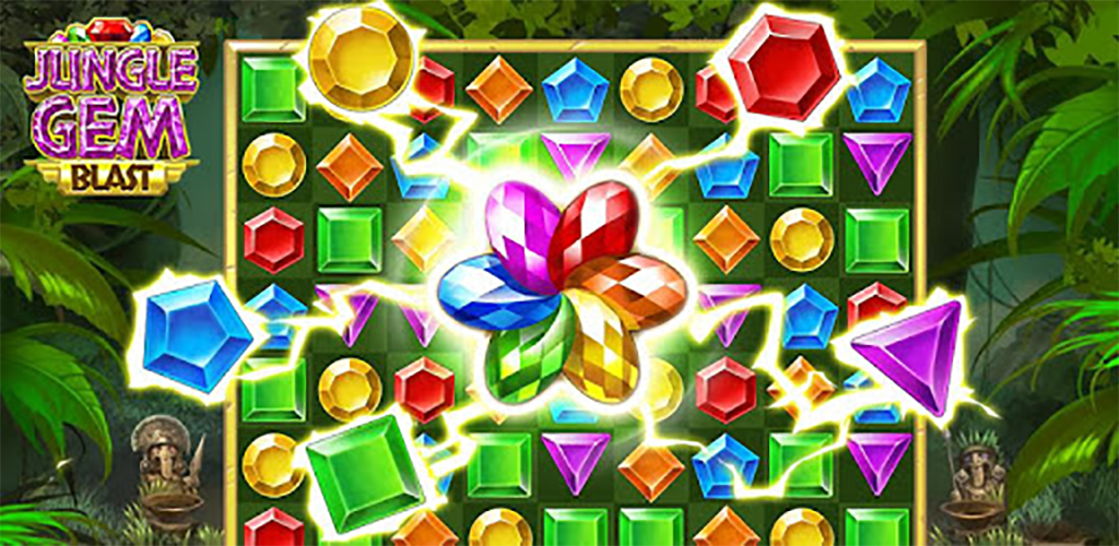 Buy Jungle Gem Blast Unity Source Mobile App Source Code