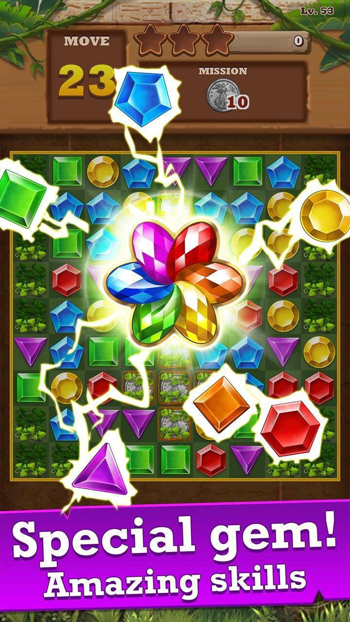 Jungle Gem Blast Unity Source