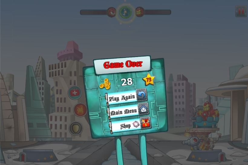 Tower Crush Defense Game - Unity