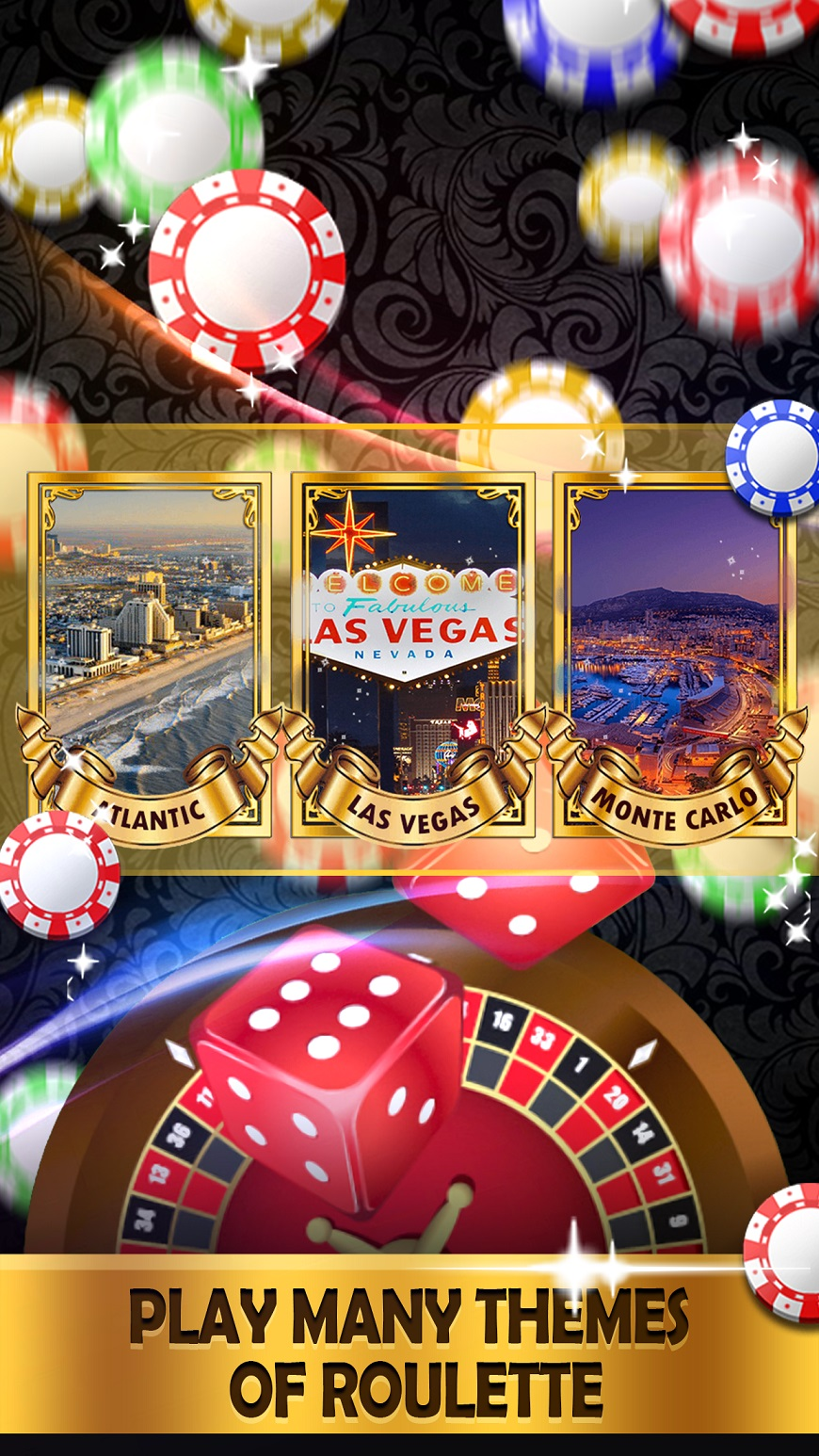 Roulette Royale Deluxe - FREE Vegas Casino Game