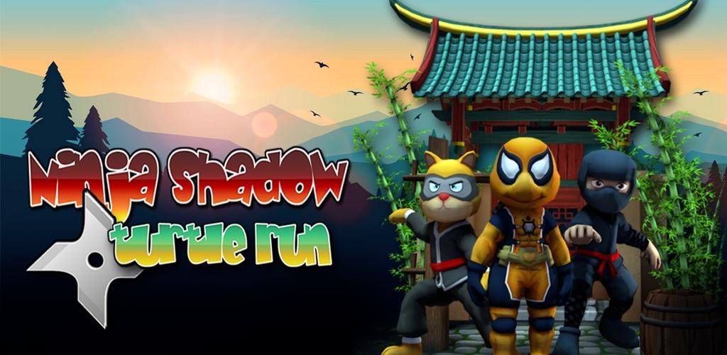 Ninja Shadow Turtle Run Kid-Unity