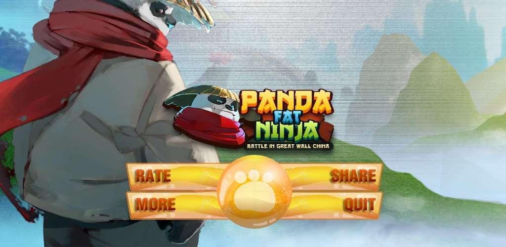 Panda Fat Ninja