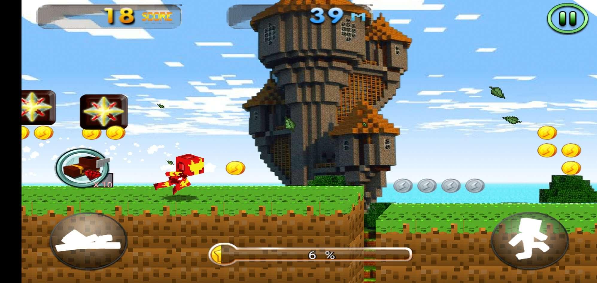 Craft Iron Super Hero Game