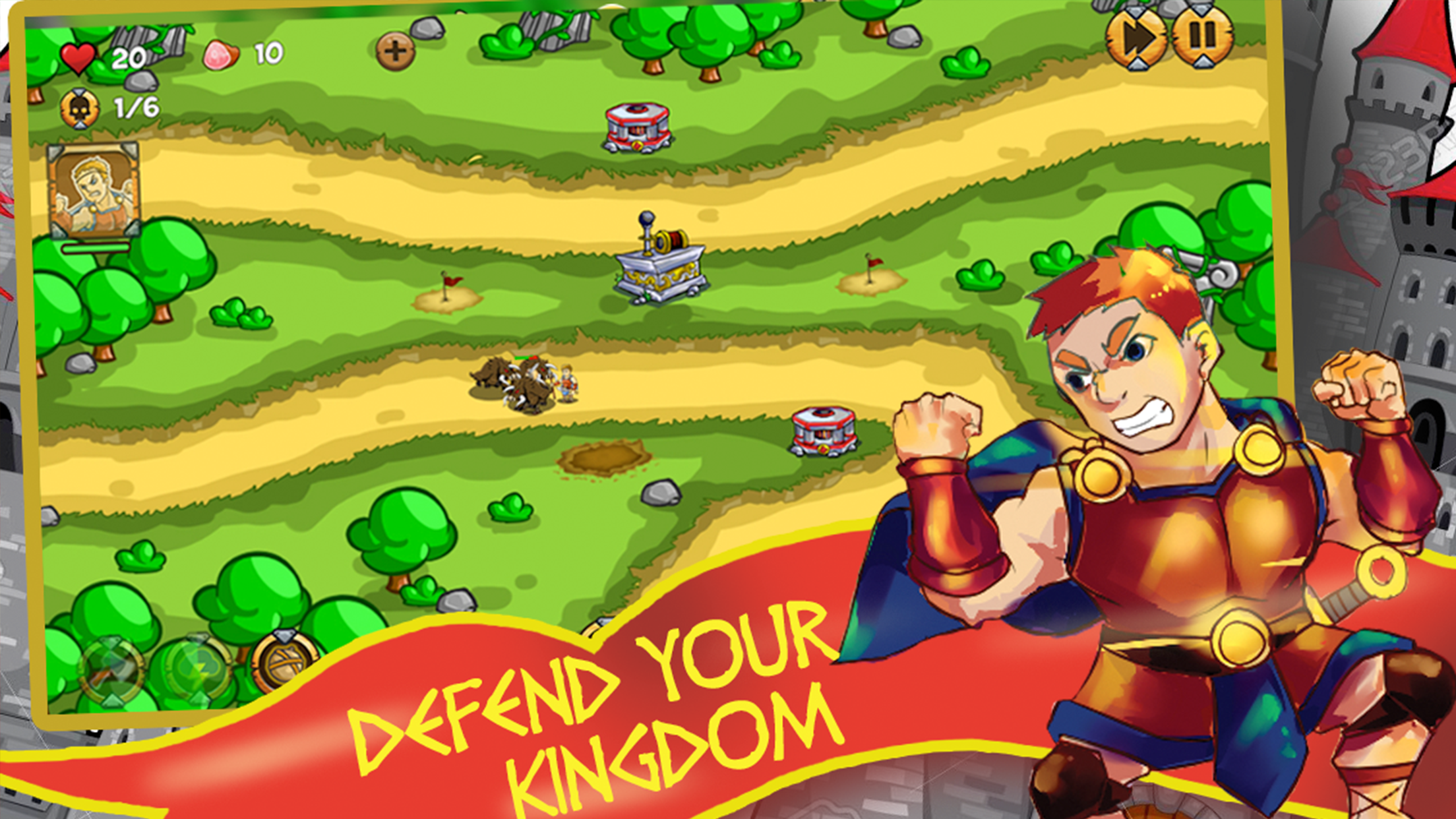 Tower Defense - Hercules