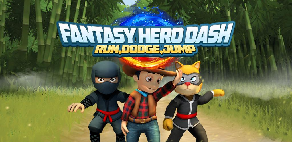 Fantasy Hero Dash - Fun Endless Run And Jump Game