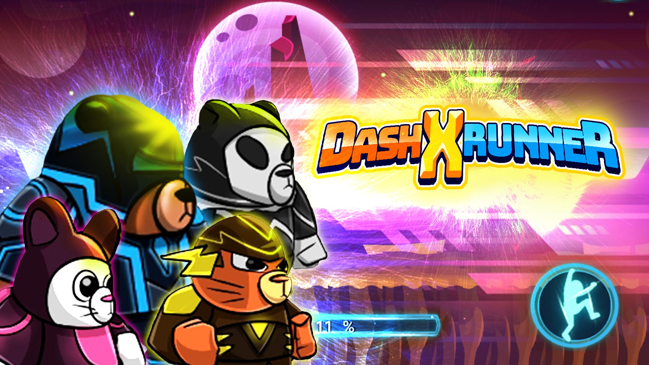 Fantasy X-Dash Run - Fantasy Space Jump