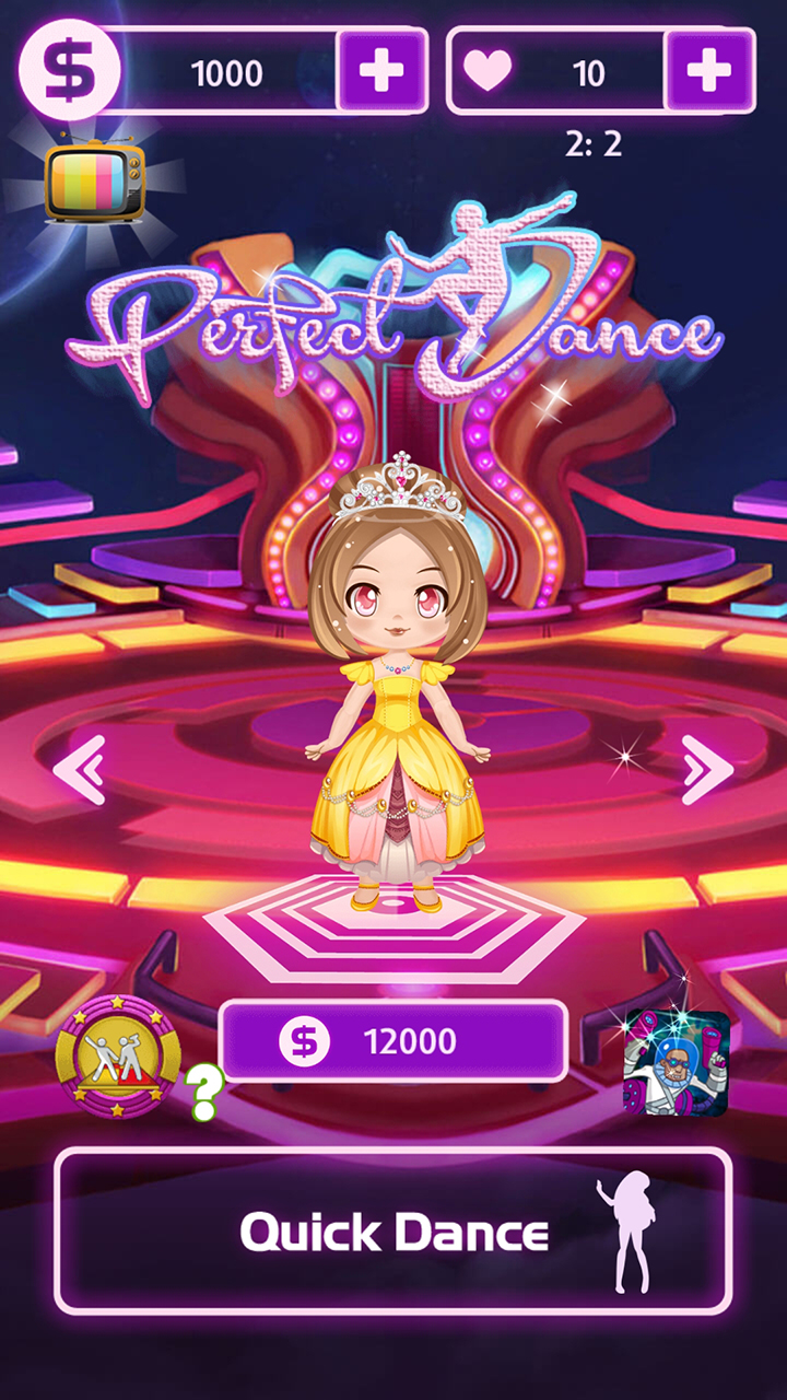 Perfect Dance Audition 500K+ download