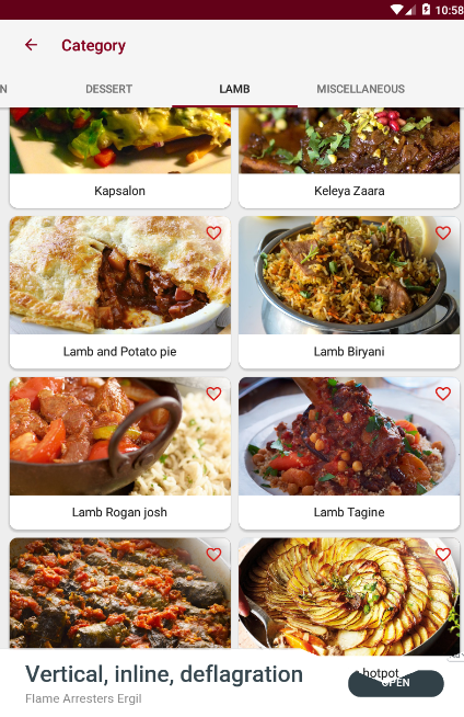 Foods  Recipes