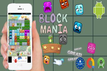 Block Mania – Admob, GDPR, Android Studio