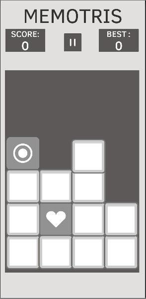 Memory Style Tetris