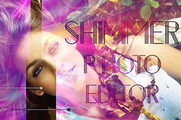 Shimmer Effect - Photo Editor - Image Editor
