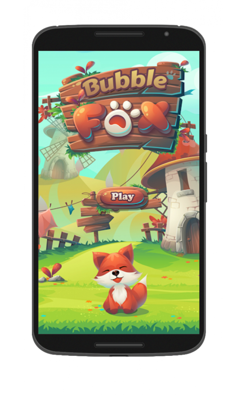 Fox bubble shooter