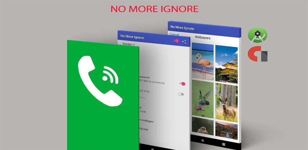 No more ignore