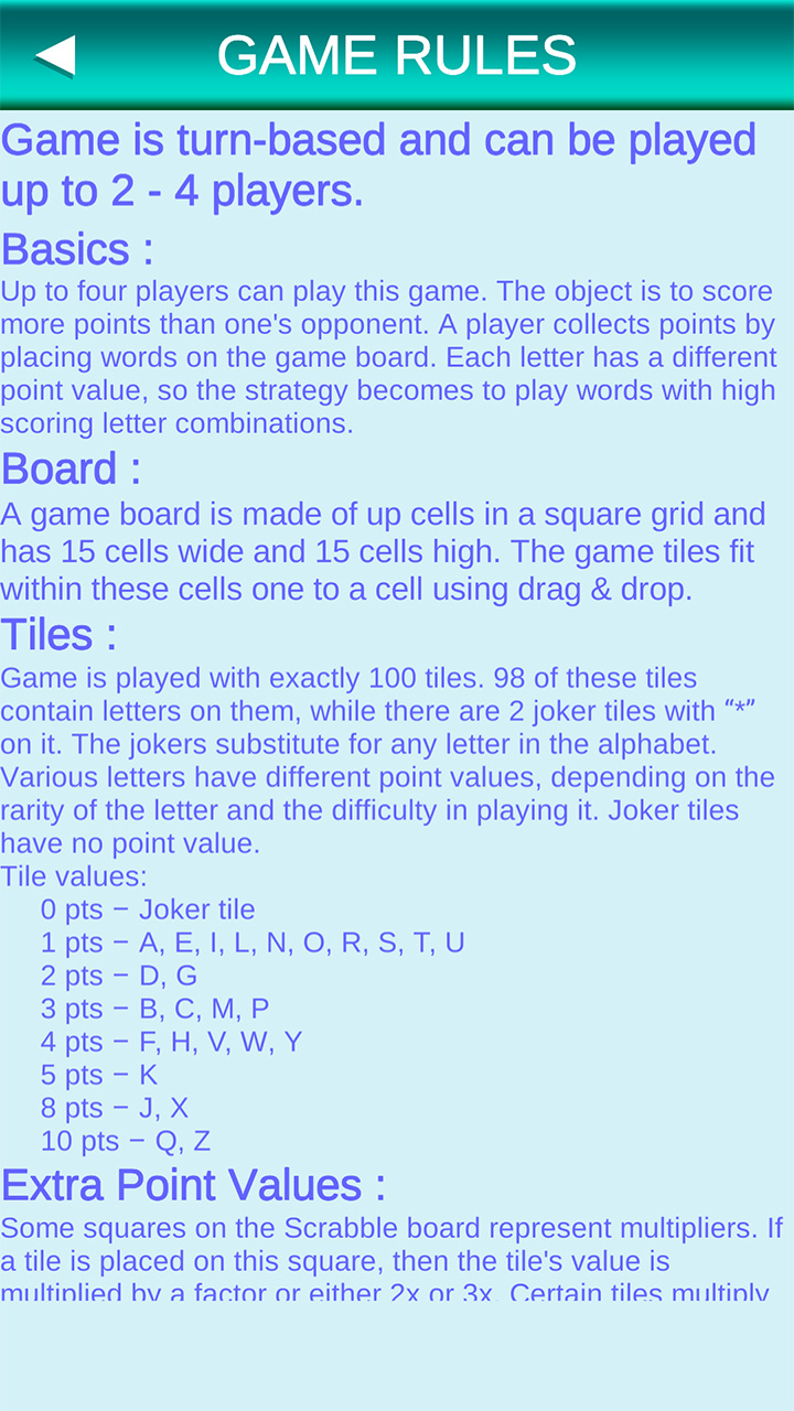 SCRABBLE - The Classic Word Game