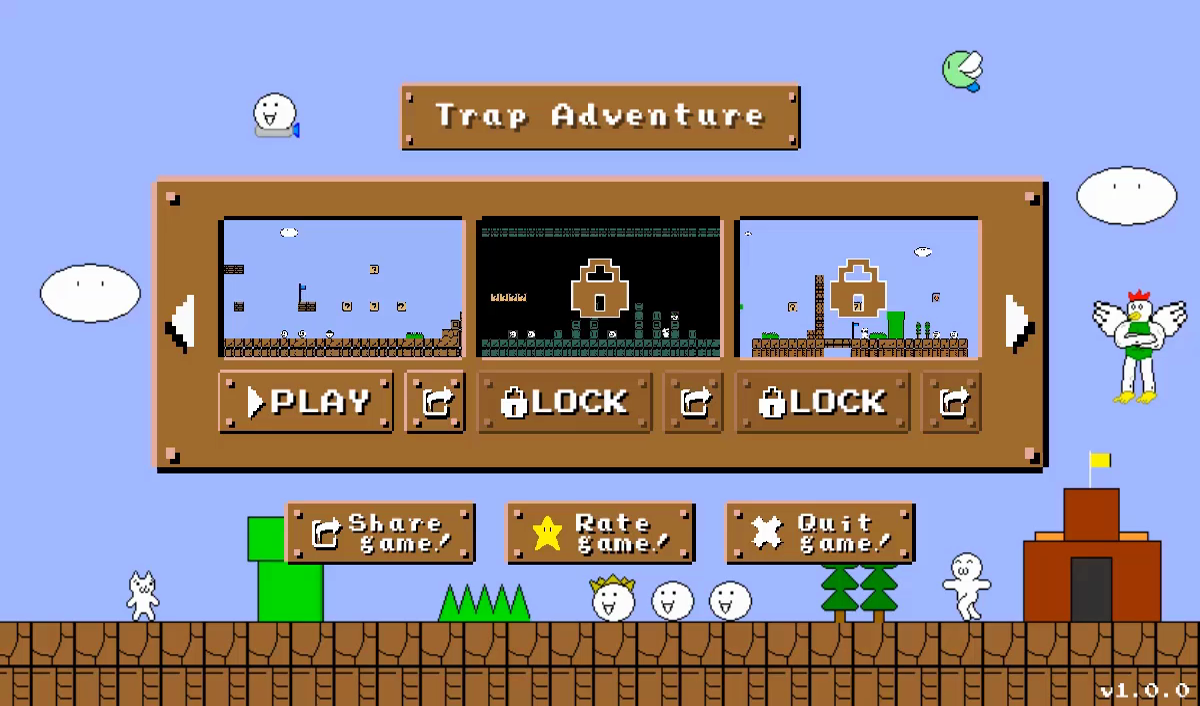 Trap Adventure (90+ Traps) - Unity Game Template