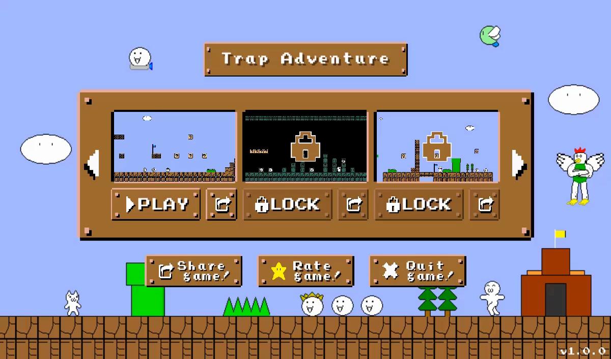 Trap Adventure (90+ Traps) - Unity Game Template