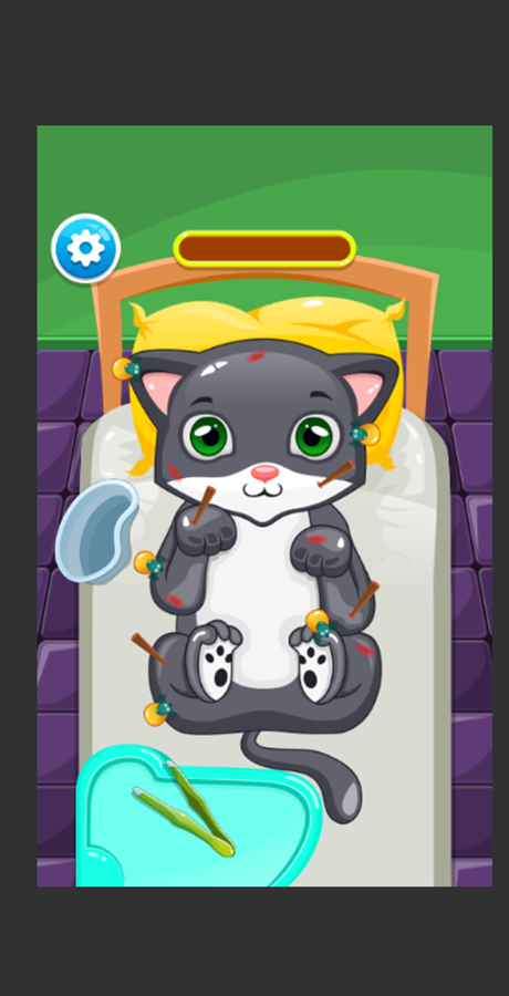 sick cat game doctor treatment unity gamesi