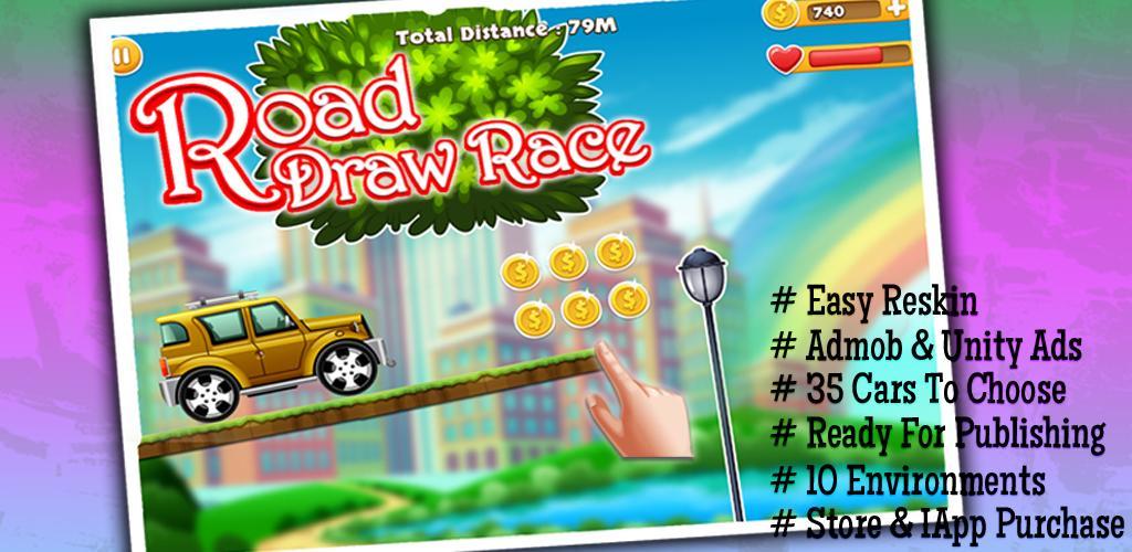 Draw Road Race