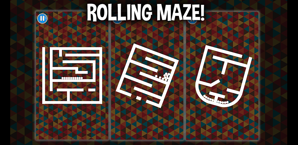 Rolling Maze - balls rotate - complete project puzzle game