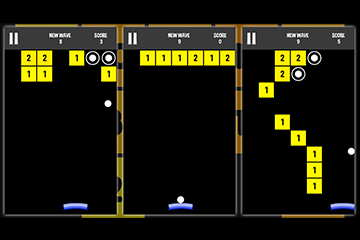 Infinite brick breaker arkanoid : endless balls  blocks crushing - complete project - ready for release