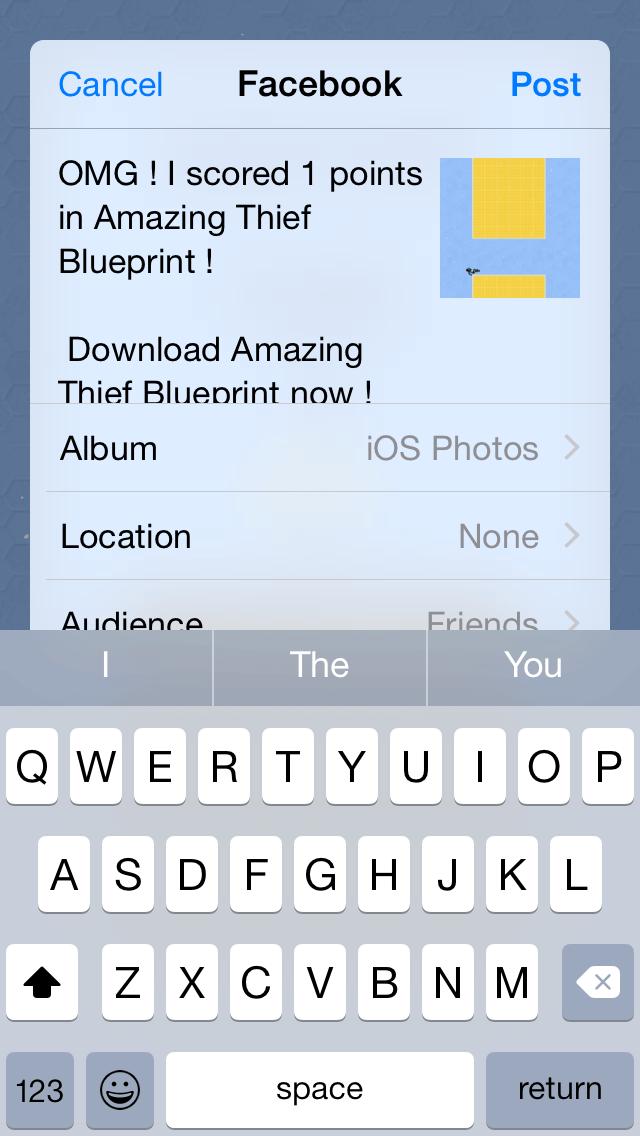 Amazing Thief Blueprint