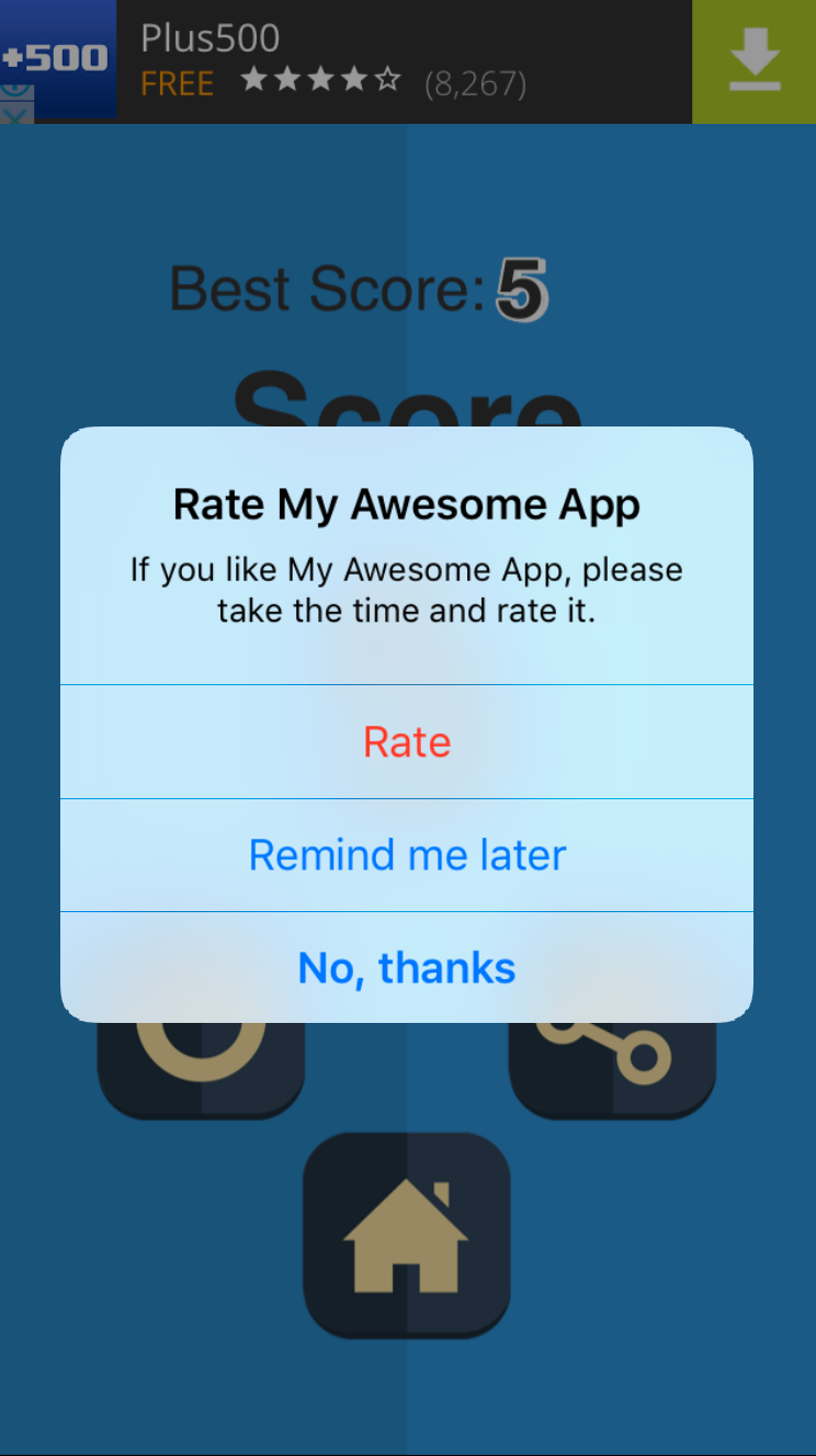 Sky Diving – One Hour Reskin - iOS 10  Swift 3 ready